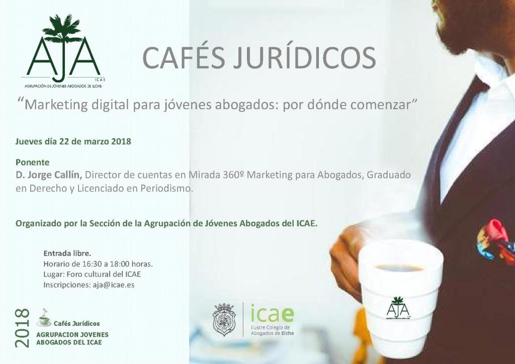 Cafés Jurídicos AJA 22 MARZO